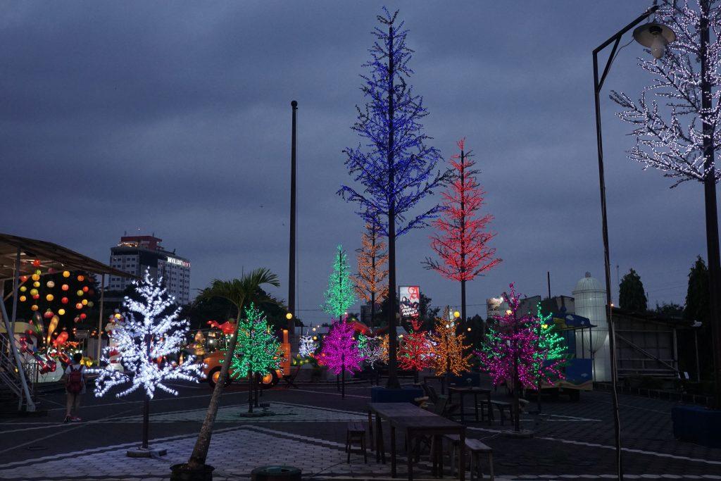 Taman pohon Lampu