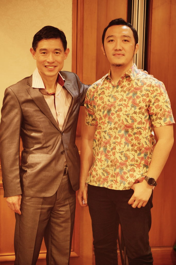 Bersama Frank Koo. Head of Southeast Asia (Talent Solutions) Linkedin